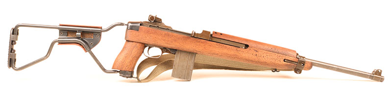 M1A1 paratrooper Carbine might win some cool points, but is not nearly as effective as standard version in practical use.