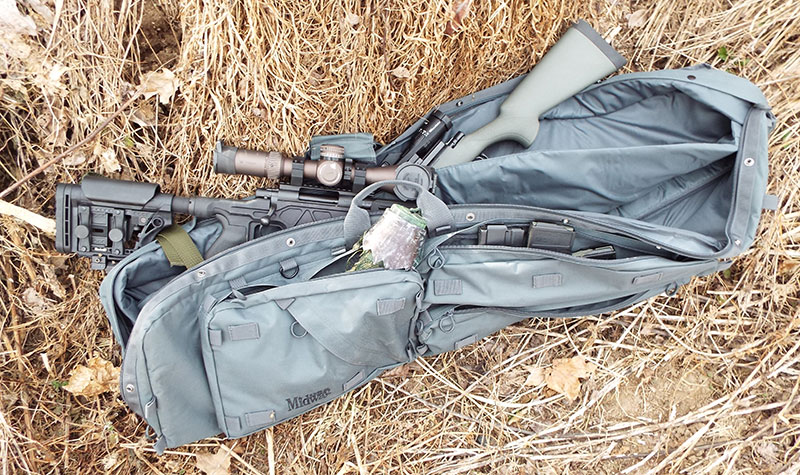 Midway Sniper Drag Bag is sturdy, spacious, and capable.