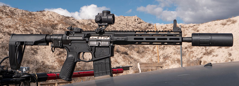 Wilson Combat 300 HAM'R is a compact pistol that—even suppressed—is lightweight, reliable, and easy to use.