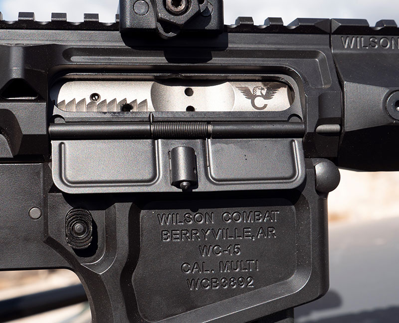 Wilson Combat bolt carrier groups are coated using NP3 for protection and smooth operation in adverse conditions.