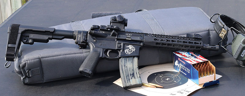 Chair Qual is a must-do for shooters running AR pistols as truck guns, like this nine-inch BCM .300 Blackout.