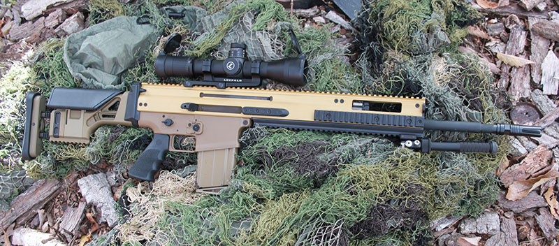 Twenty-inch barreled FN SCAR 20S can serve as a benchmark in the precision rifle role and perform as a general-purpose rifle.