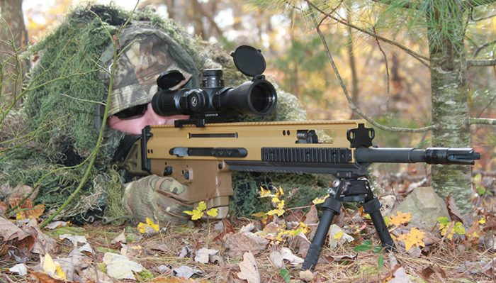 FN SCAR 20S's potency as a DMR is based on combining a highly accurate platform with the increased power represented in the 7.62x51 cartridge.
