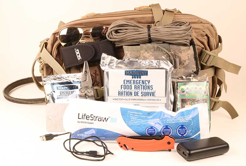Airborne survival kit needs to be compact and lightweight. A little well-reasoned gear goes a long way.