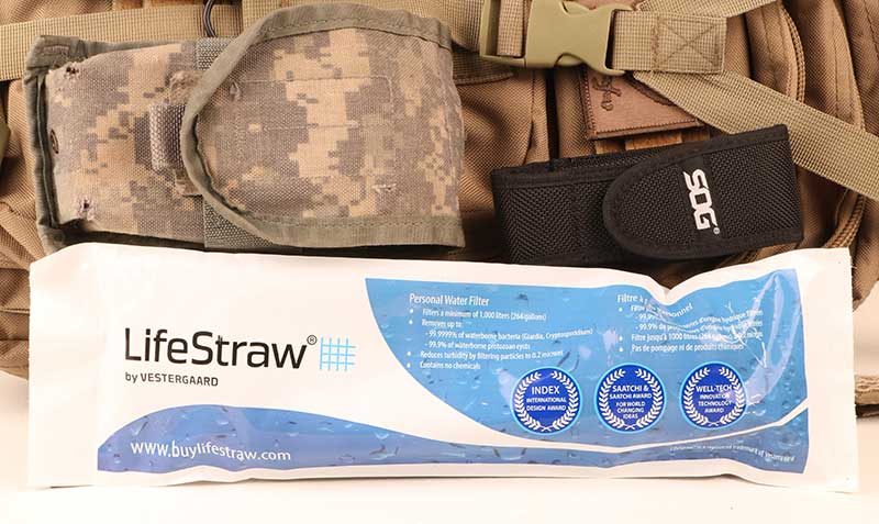 Lifestraw turns most any wretched bilge into potable water.