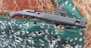 Two of Remington V3 TAC-13's greatest attributes are its compactness matched with its fearsome close-range power.
