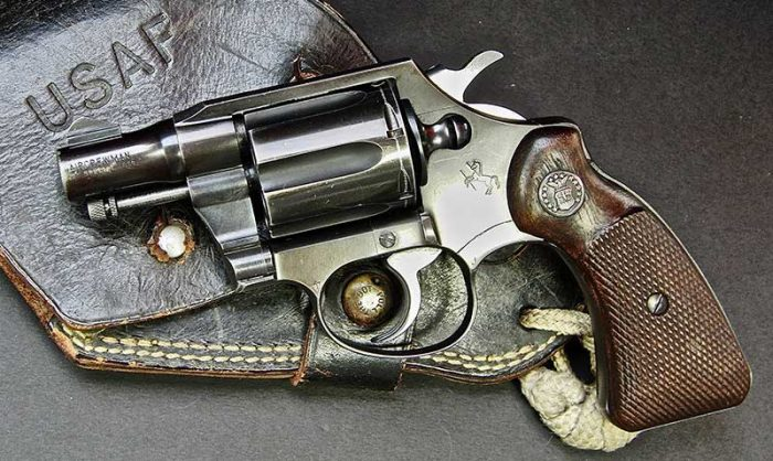 Colt version of Aircrewman revolver.