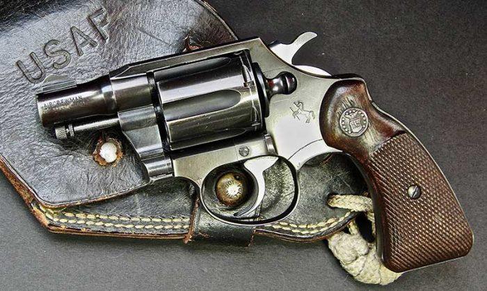 Colt version of Aircrewman revolver.