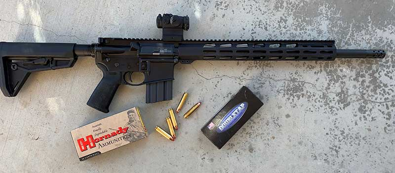BIG-BORE BLASTER: Ruger AR-556 MPR in  450 Bushmaster