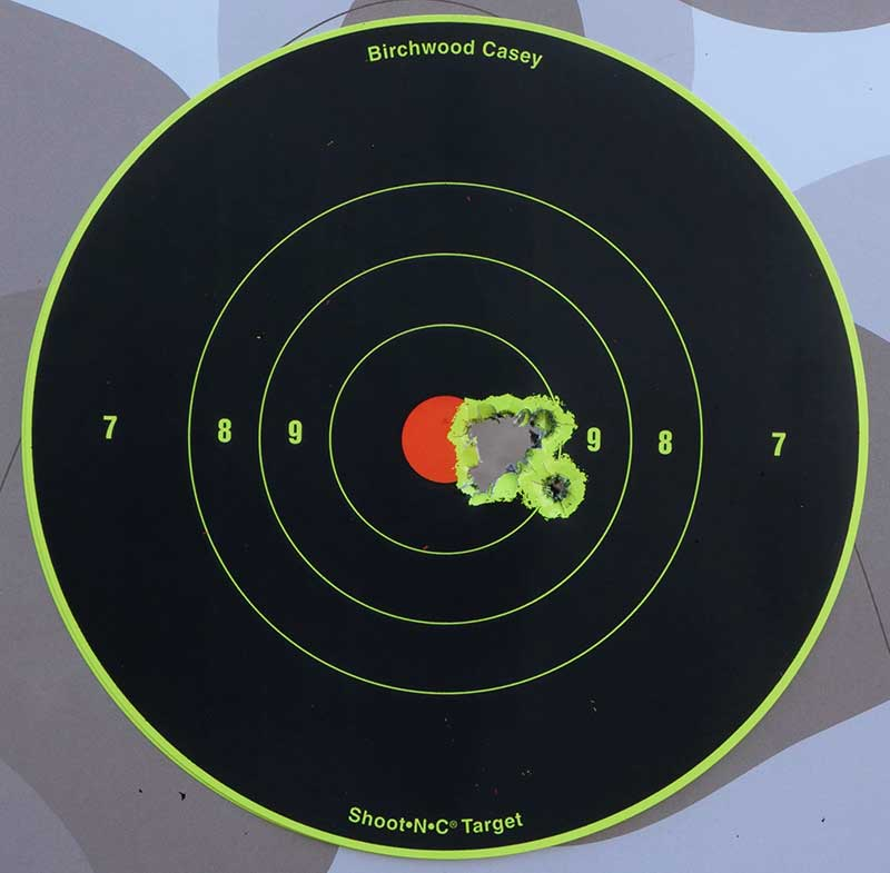 Groups at 100 yards were excellent, and Black Hills 77-grain TMK was precision-rifle accurate at 100 yards.