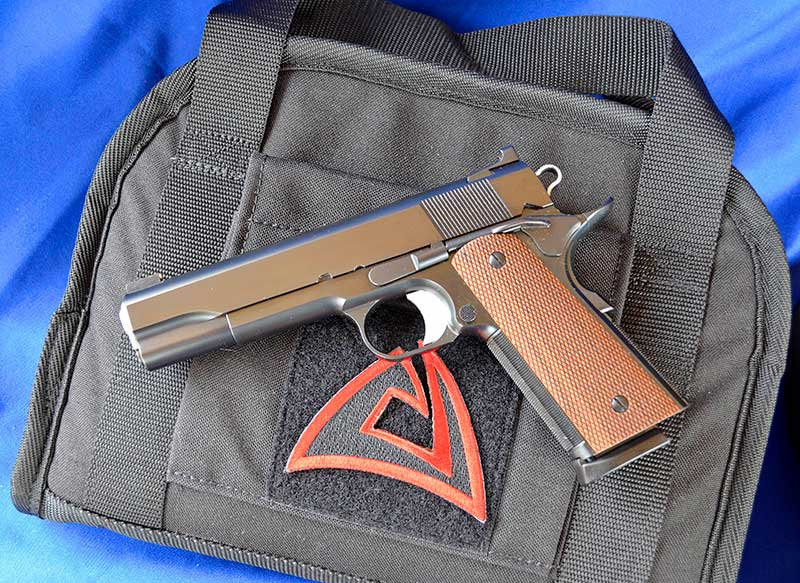 Alchemy Custom Weaponry Prime is a flawless rendition of Browning's timeless 1911, built with modern materials and equipment and old-world craftsmanship.