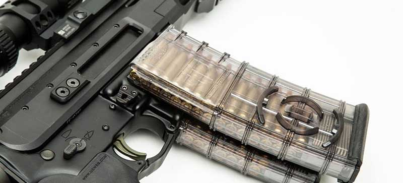 Coupled AR mags. ETS AR-15 mags offer combination of features not offered in other AR mags and employ an advanced polymer.