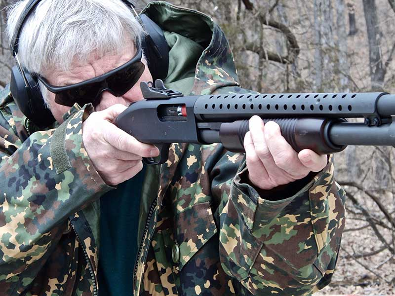 As with all pump shotguns, care must be taken to avoid short stroking. Sharply pulling pump action to the rear and shoving it forward to lock will normally ensure reliability.