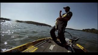 Using a Fluke on Lake Murray