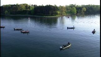 Kevin VanDam Fishing on Smith Mountain Lake