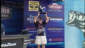 Pro Bass Fisherman Tommy Biffle's Tournament Review