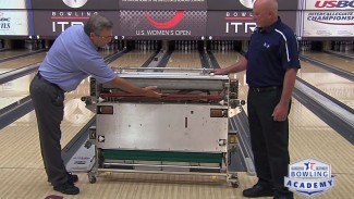 How the Bowling Lane Machine Works