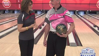 Ball Weight in Bowling Stance