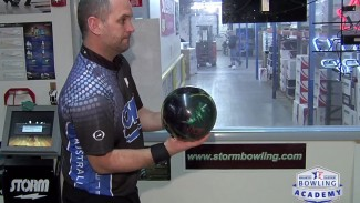 Bowling Form During the Push Away