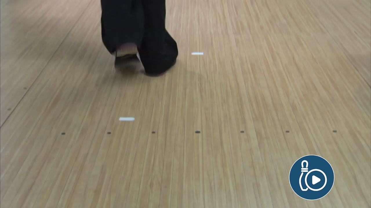Footwork During the Bowling Approach
