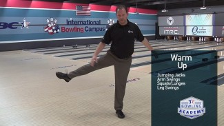 bowling warm-up