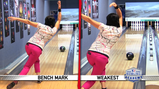 Judging Your Bowling Technique on a Short Oil Pattern
