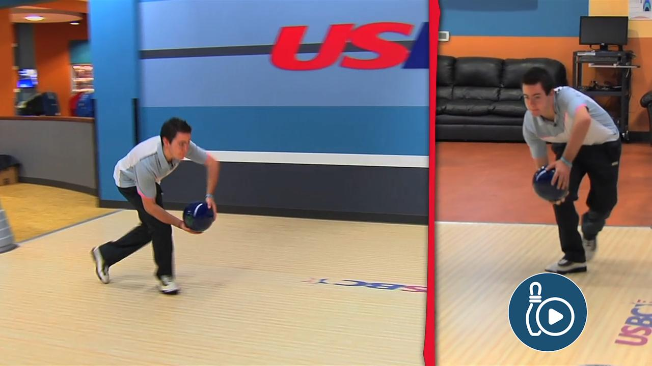 ec67f097ef Training the Two-Handed Bowling Approach | National Bowling Academy