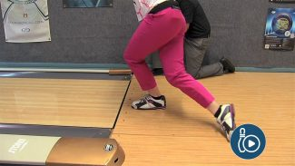 Bowling Release Practice for Upper and Lower Body Alignment