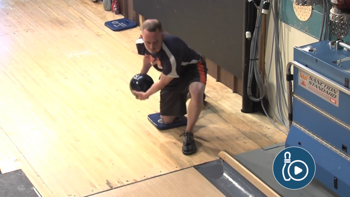 Two-Handed Bowling Drills