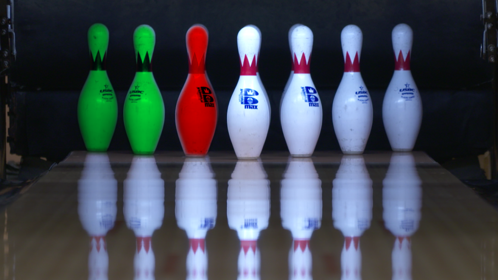 four seven pins spare bowling