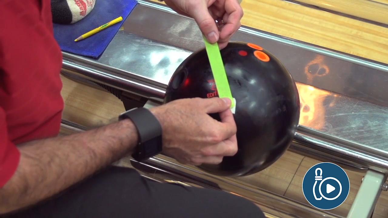 Measure Bowling Ball Rotation