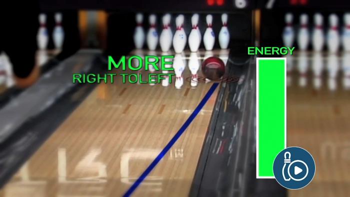 Weaker vs Stronger Bowling Ball