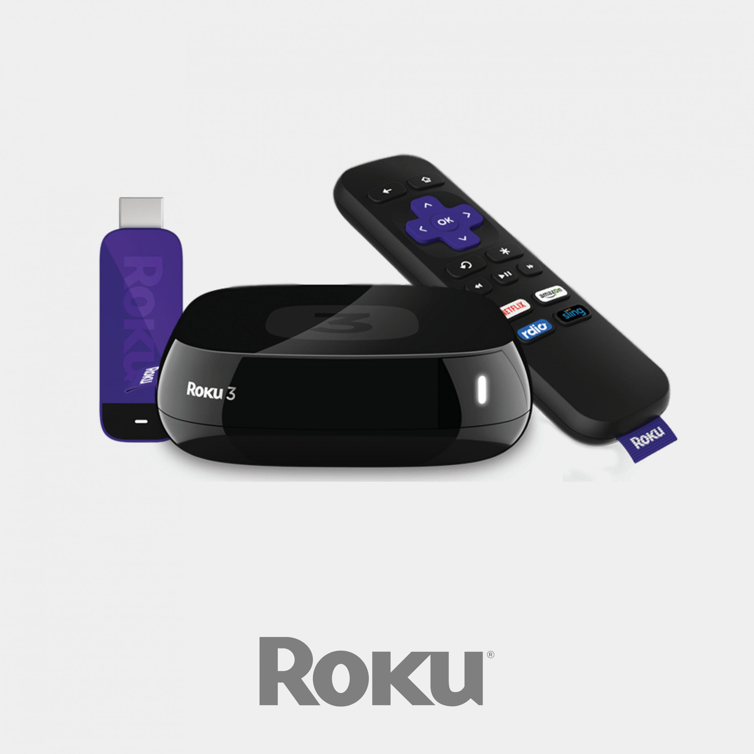 Stream using Roku