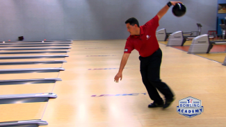 left-handed bowling