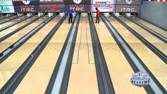 bowling house shot
