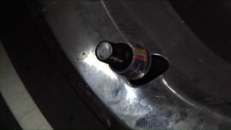 Classic Car Tire Pressure Monitor Installation