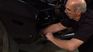 Restoring a Classic Car: Installing Valance