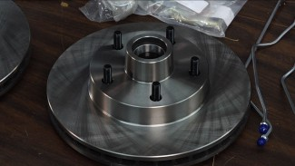 Drum to Disc Brake Conversion on a Chevy Classic Car