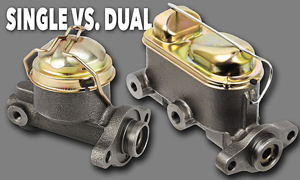 Single vs  Dual Reservoir Master Cylinders | Classic Car Restore