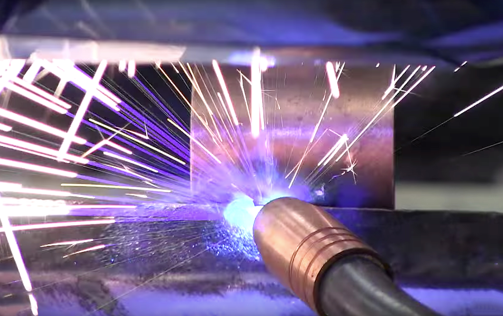 Welding Blow Through