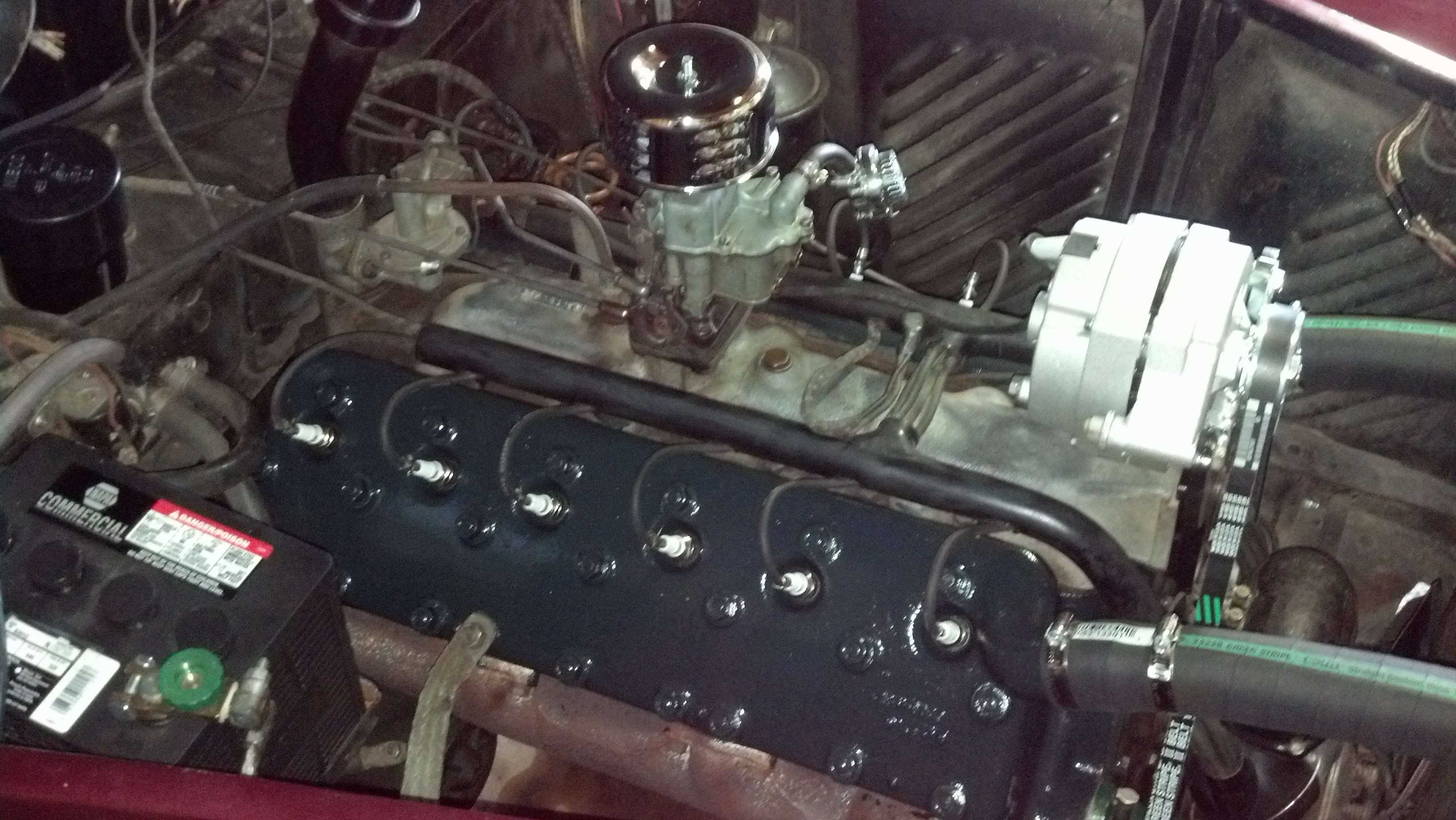 1948 Lincoln Continental Engine