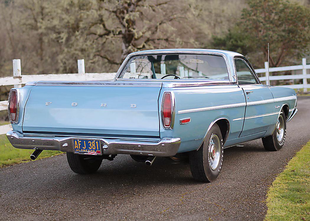 1969 Ranchero Back