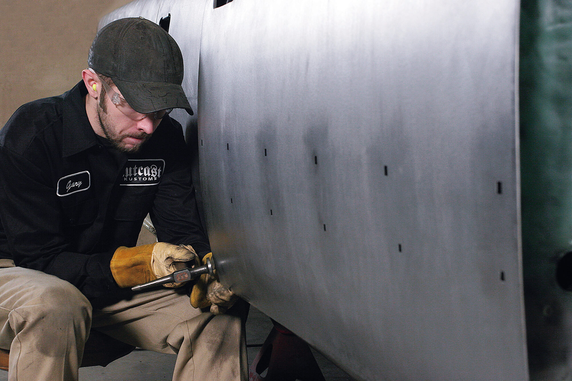 Examining the Door Skin