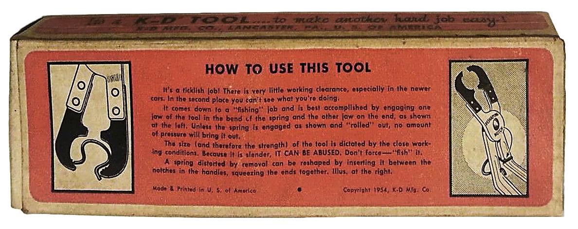 Removal Tool Box