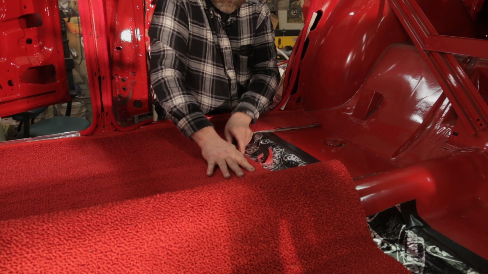 How To Install Carpet In A Car Classic Car Restoration Club