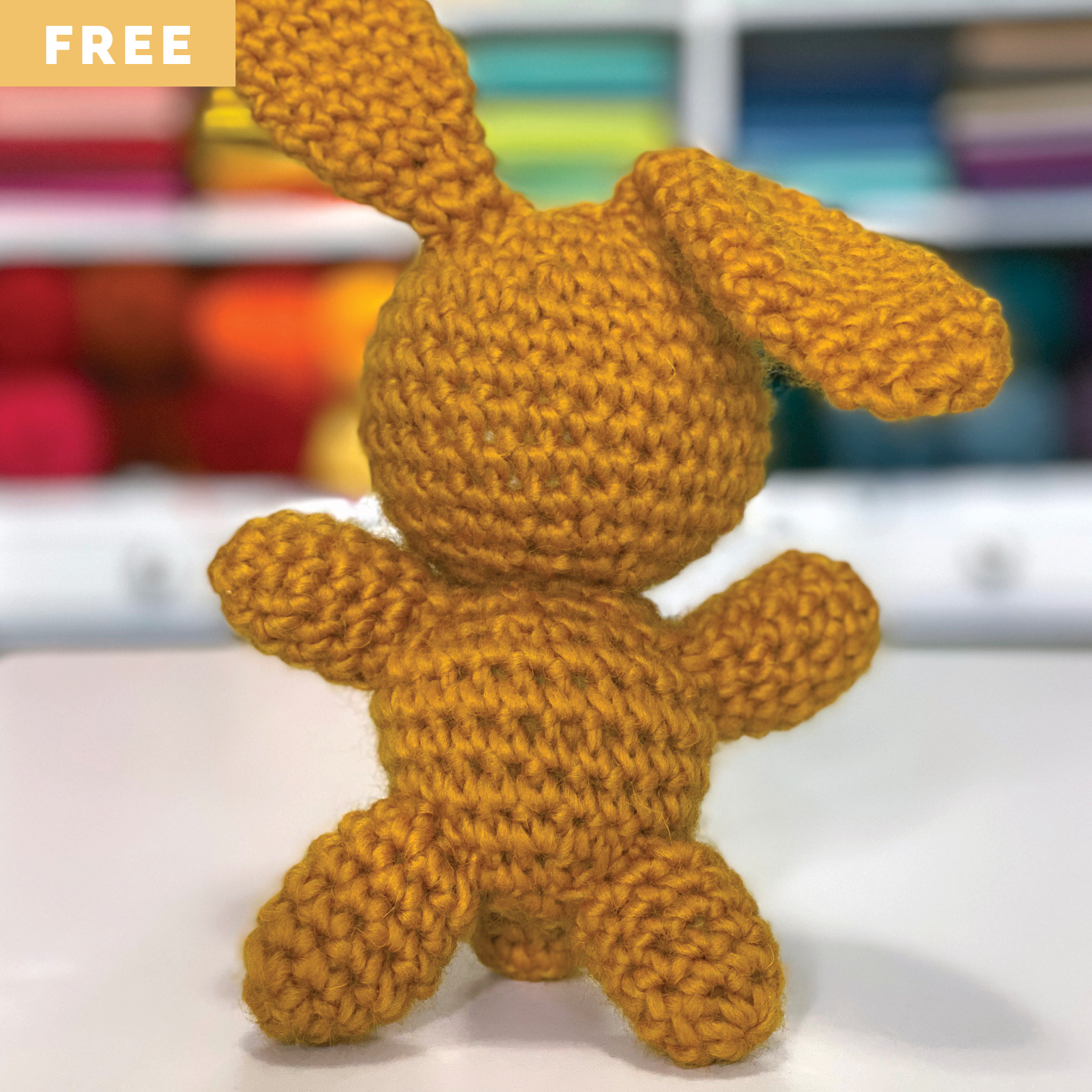 Free Crochet Pattern - Toy Bunny