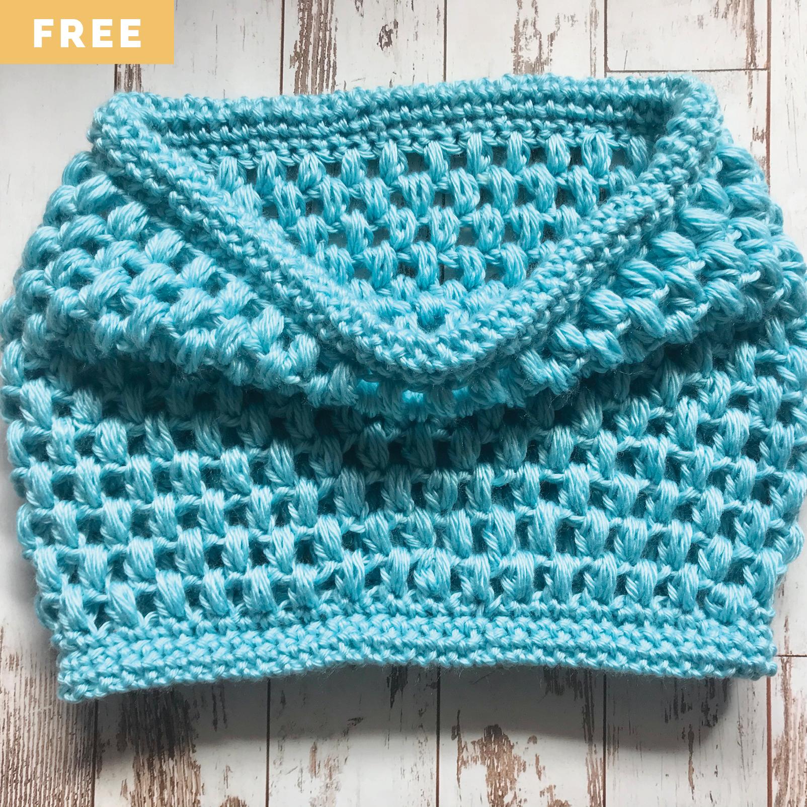 Free Crochet Pattern - Puff Love Cowl