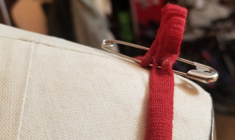 pin spaghetti strap
