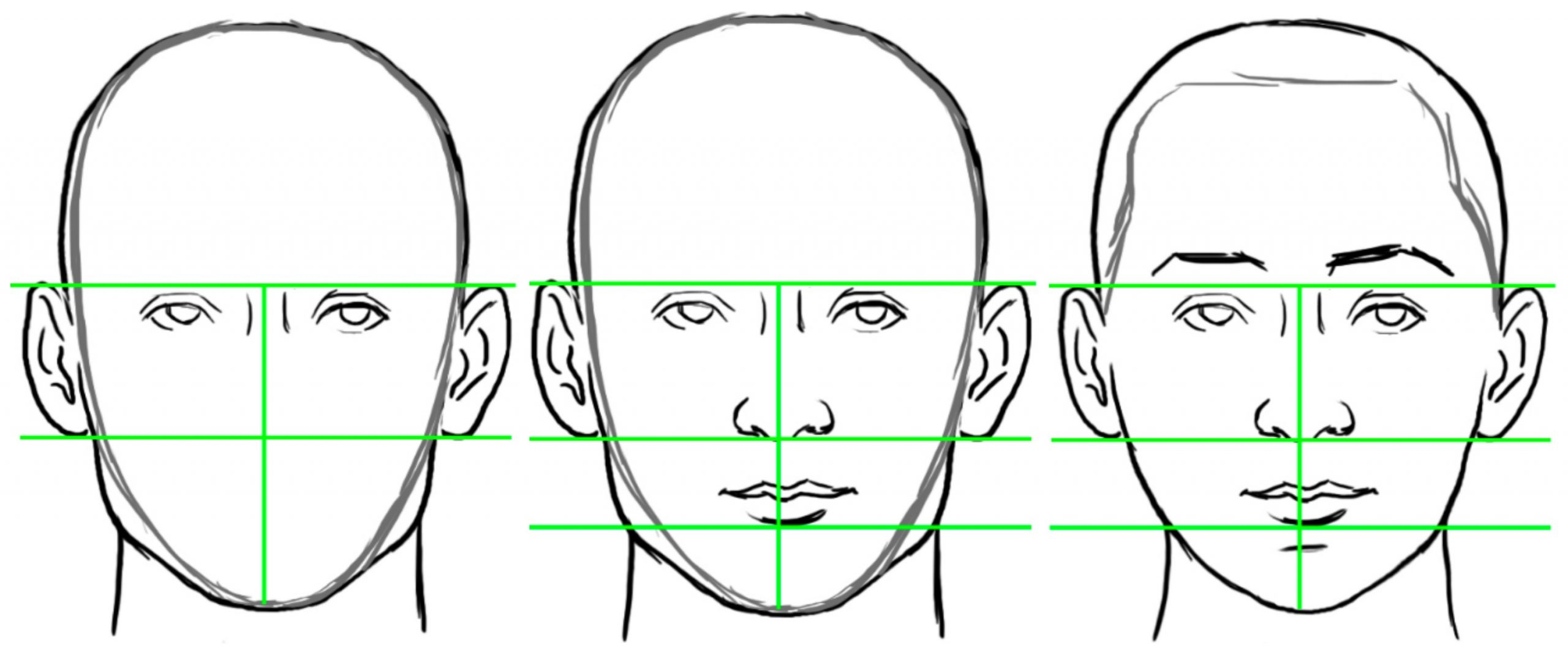 Learn How To Draw Faces With These 10 Simple Tips Bluprint