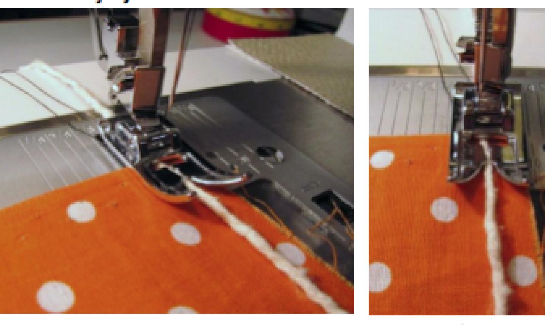zigzag stitching fabric